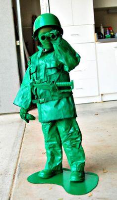 Toy Army Man DIY Halloween Costume