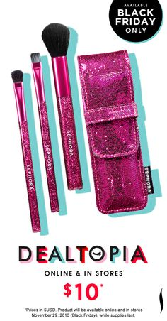 Black Friday Preview: Sephora Collection Sparklers Brush Set #Dealtopia #Sephora #blackfriday