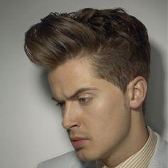 Quiff haircut