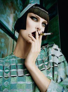 DANIELE & IANGO / PATTI WILSON / LUIGI MURENU - Vogue Italia February 2013 | Haughty | Blog | Streeters