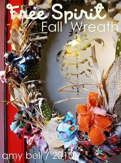 free spirit fall wreath