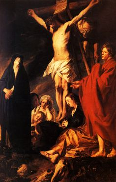 Christ on a Cross (Jacob Jordaens)