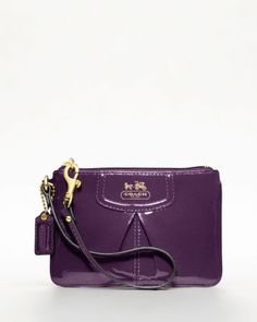 Coach wristlet, available in Aubergine (shown) or black for ONLY $40.60 SHIPPED here: http://rstyle.me/n/c6x6y2d    Great gift (for yourself!), grab it NOW before it sells out: http://rstyle.me/n/c6x6y2d    This promotion ends on 10/1/12, but it will likely sell out LONG before then-- go NOW!