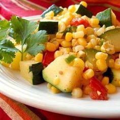 Calabacitas con Elote (Zucchini with Corn) Allrecipes.com