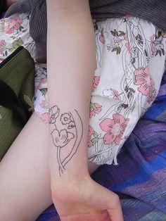 Inside Wrist Tattoo