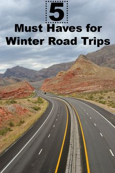 5 Must Haves for Winter Road Trips - Things you Need to Know BEFORE you get on the Road! winter road, i40 road, road trips, trip getaway, the road, rv parks