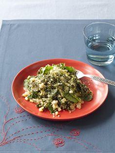 Quinoa with Kale, Corn, & Spinach