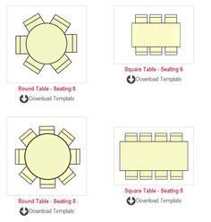 wedding seating plans templates