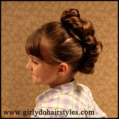 Girly Do's By Jenn: Messy Bun Faux-Hawk