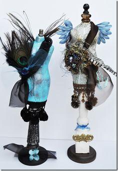 paper mache dress forms