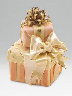 cheesecake from Sak's (beautiful gift wrap)