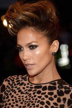 Jennifer Lopez went to the Met Gala looking fierce wearing One Of A Kind Rachel Beth Earrings