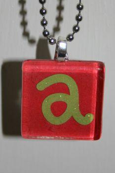 glass tile necklace tutorial, necklac tutori, glass tiles
