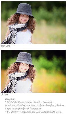 Photo editing tutorial.