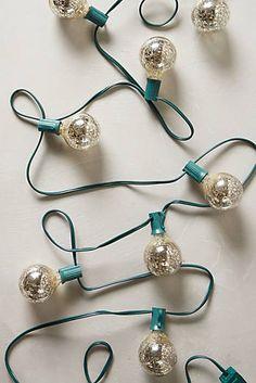 Mercury Glass Bulb L