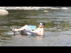 Tubing down the Little Sou'West River - Miramichi, NB