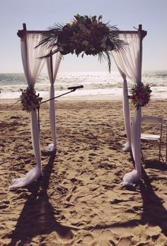 Salt Creek Beach wedding #bellablooms