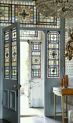 Gorgeous stained glass work