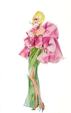 Robert Best Sketching For Barbie Be inspirational  ❥|Mz. Manerz: Being well dressed is a beautiful form of confidence, happiness & politeness