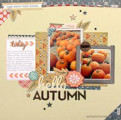 Hello Autumn - Scrapbook.com