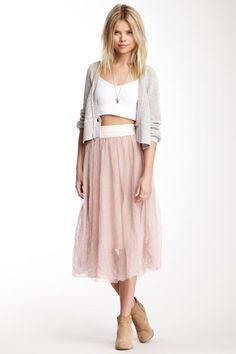 Summer Tulle Skirt