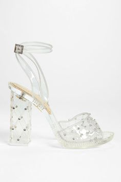 charlotte olympia lucite sandal