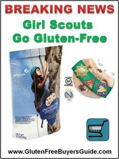 Girl Scouts Go #GlutenFree for #CeliacDisease http://glutenfreebuyersguide.com/G-Free_Industry_News.html