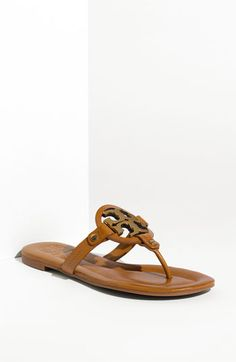 Tory Burch 'Miller 2' Logo Thong Sandal available at #Nordstrom