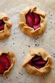 summer fruits galettes