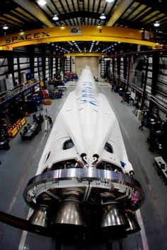 SpaceX Unveils Gorgeous Rocket Legs for Space Station Launch on March 16