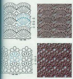 Вязание крючком полотна 9