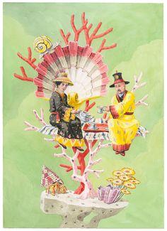 Harrison Howard, Chinoiseries: Tea for Two