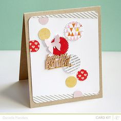 Happy Birthday Dots card by Dani at @Studio_Calico