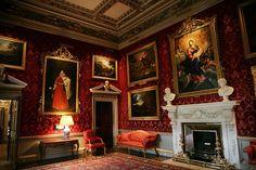 beauti norfolk, holkham hall, histor interior, georgeous interior, british castl, live room, isl castl, england state, manor