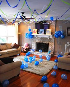 Under the Sea party: Joshua and Megan are 3 & 2! | Chickabug