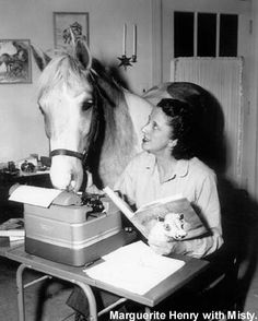 Misty of Chincoteague is a 1947 book by American author Marguerite Henry, inspired by a real Chincoteague Pony named Misty. Set on the coastal island of Chincoteague, Virginia, the book tells the story of the Beebe family and their efforts to raise a filly born to a wild horse. The book won the Newbery Honor.