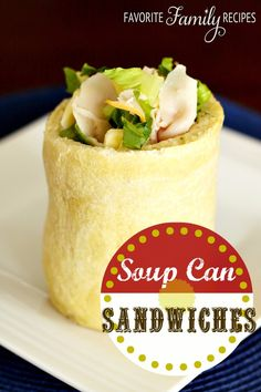 Love these! They are a fun way to switch things up from the typical sandwich. #sandwich #lunch