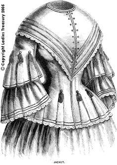 Period Pattern: Lady's Jacket February 1857