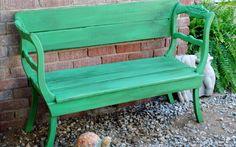 Antibes Green Garden Bench