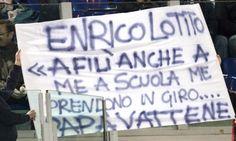 Striscione #Lazio