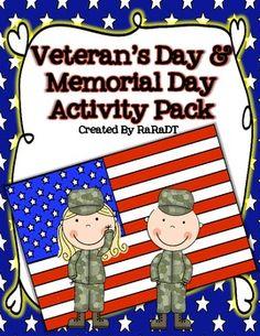 #military #veterans Veterans Day & Memorial Day Activities - @ www.HireAVeteran.com