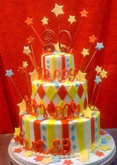 another birthday cake idea...