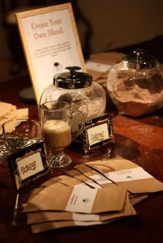 Wedding coffee bar - we can do this for your next event!