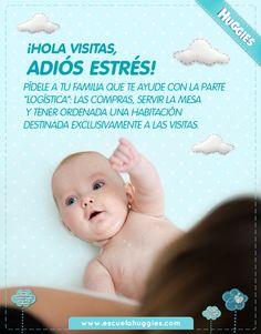 Que las primeras visitas al recién nacido no sean un problema  http://www.huggiesla.com/notas/Semana-10-Las-visitas.aspx
