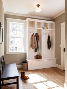mudroom ... I like the old-student-locker design