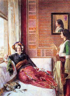 John Frederick Lewis - Harem Life in Constantinople