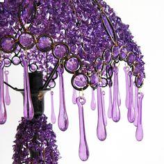Beautiful beaded lamp