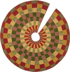 Slice of Christmas pattern by Pat Wys/Silver Thimble Quilt Co. www.silverthimblequilt.com