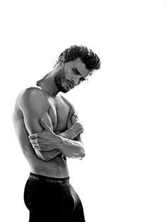 jamie dornan  #gottalove Calvin Klein