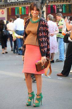 Paris Fashion Week  maternity style